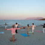 Pilates on Mama Beach